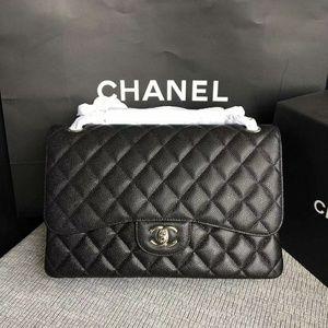 Chanel Jumbo Flap Bag New Check Description